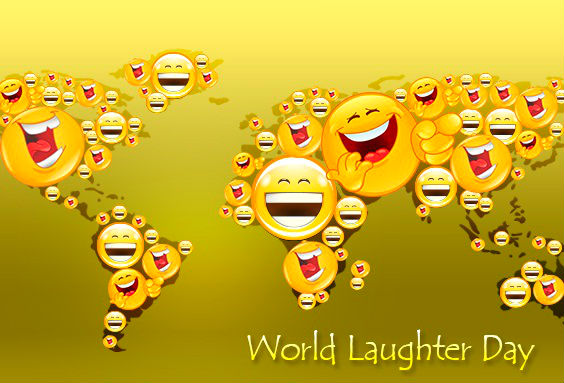 Laughter Day - 1st sunday of May