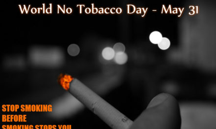 World No Tobacco Day – 31st May