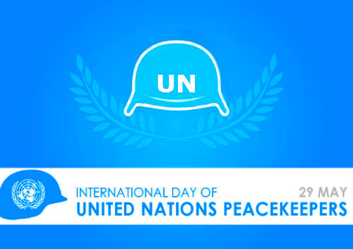 International Day of United Nations Peacekeepers - 29 May  IMAGES, GIF, ANIMATED GIF, WALLPAPER, STICKER FOR WHATSAPP & FACEBOOK