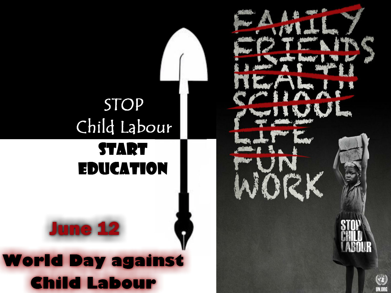World day Against Child Labour – June 12
